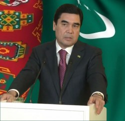 Гурбангула Бердымухамедов, президент Туркменистана