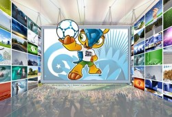 В просмотре матчей ЧМ-2014 будет задействовано около 5,9 миллиардов экранов