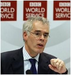 Директор Всемирной службы BBC Питер Хоррокс