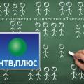 НТВ-Плюс подсчитал количество абонентской базы