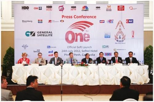 Силами GS Group и Royal Group of Companies, One TV был запущен всего за один год