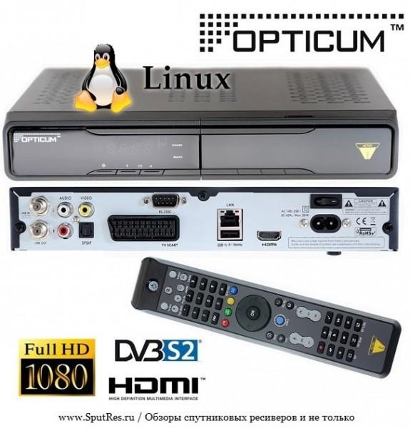 Спутниковый ресивер Opticum HD Actus Solo