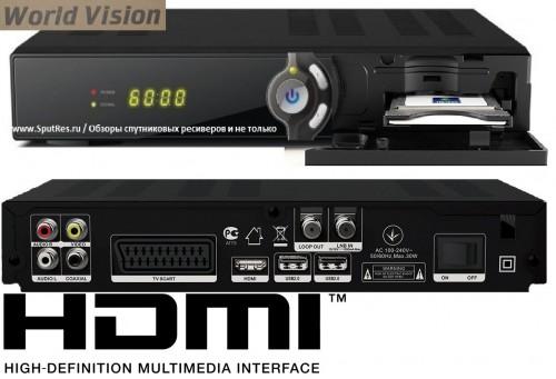 Спутниковый ресивер World Vision S718CI+