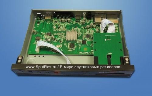 Функциональные возможности спутникового ресивера GS E212