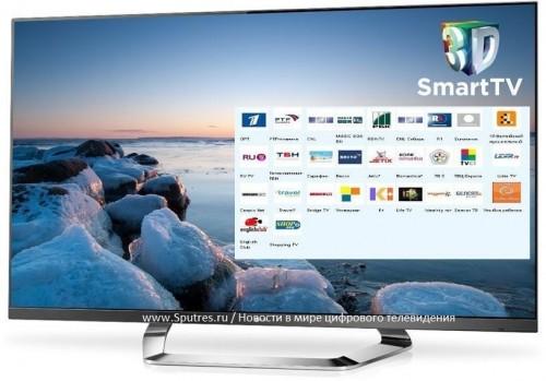На телевизорах LG не будет запрещенных российских телеканалов