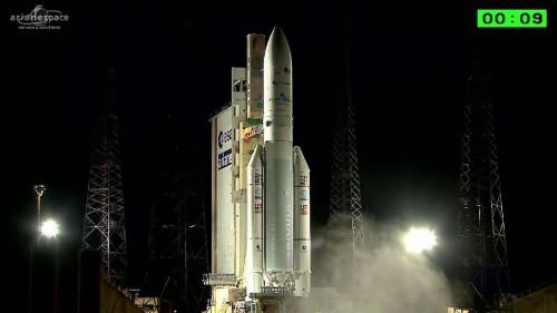 Запуск спутника Arsat-1 прошел успешно