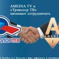 AMEDIA TV и «Триколор ТВ» начинают сотрудничать