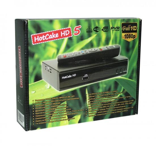 Обзор ресивера HotCake HD 5
