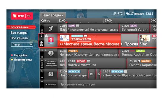 Обзор сптуникового оператора МТС