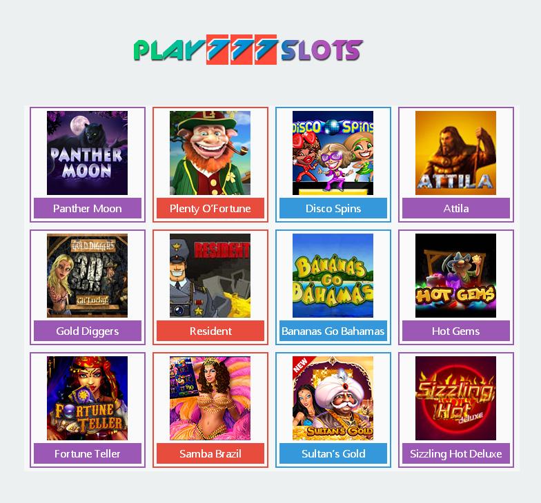 Место, где сбываются все мечты — онлайн казино PLAY 777 SLOTS