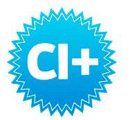 HotCake HD CI+-неофициальный логотип, наклейка с буквами CI+ и хитрое обозначение CI+CA