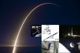 Eutelsat запустил спутники с электродвигателем
