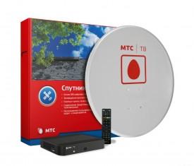 комплект спутникового телевидения от МТС ТВ