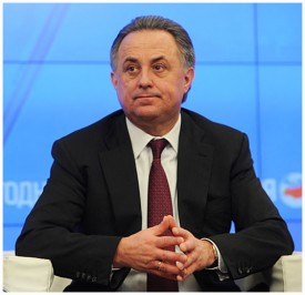 Министр спорта, Виталий Мутко
