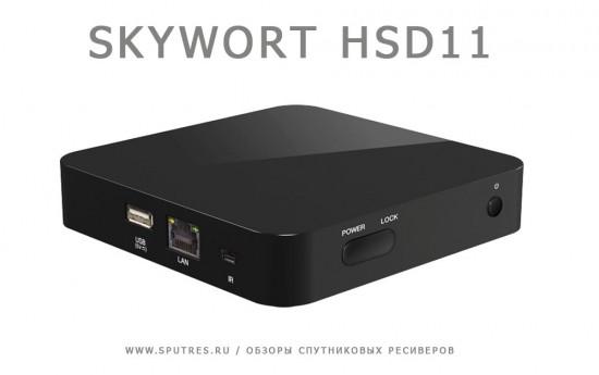 Спутниковая приставка Skywort HSD11