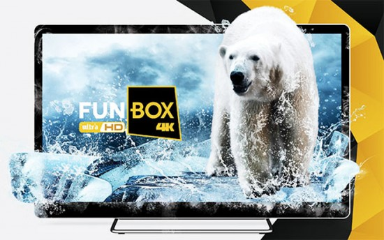 FunBox4K детище компании SPI Intermational