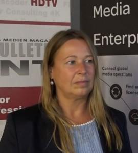 Софи Лерш(Sophie Lersch), руководитель отдела продуктов и услуг SES