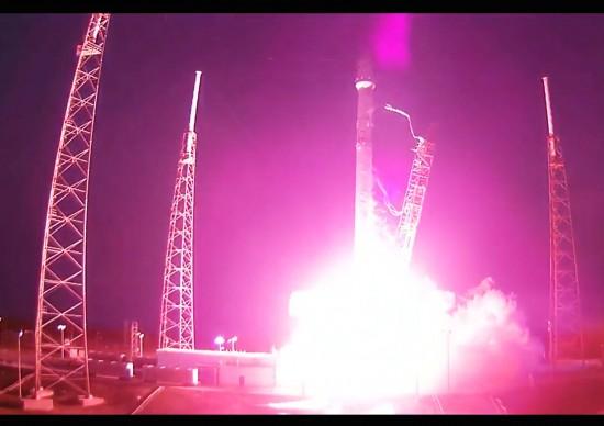 SpaceX наконец-то запустила спутник SES-9