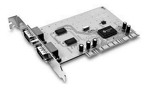 дополнительный модуль с «COM» портами, плата «PIC—COM»  - устанавливаемая в компьютер, или просто «плата СОМ портов»