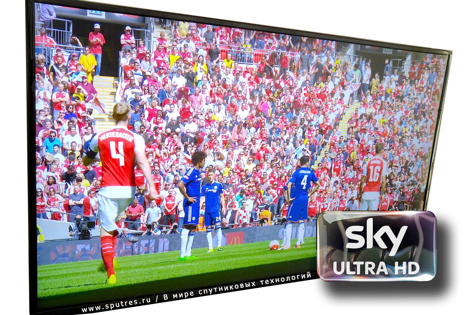 Sky запускает UHD канал в Германии