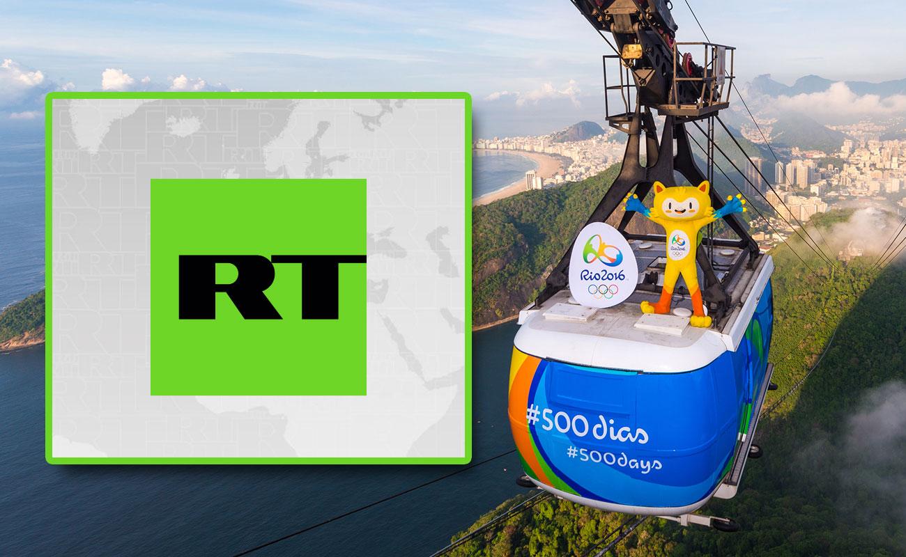 Телеканал RT стал частью эксклюзивного пакета на Олимпиаде в Бразилии