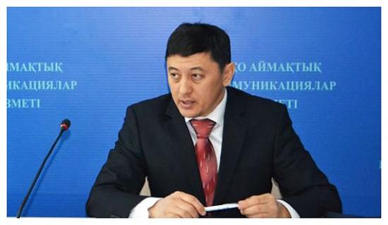 начальник центра продаж АО «Казтелерадио» Бахыт Калиев