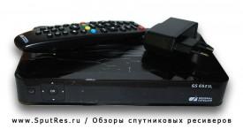 Спутниковый ресивер GS Е521L поддерживает все популярные функции