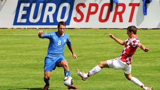 Телеканал Eurosport не обделил и поклонников футбольных соревнований