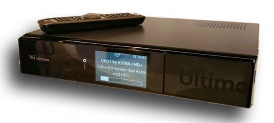 Vu+ Ultimo 4K – новый ресивер с интерфейсами для модулей НТВ-Плюс и Триколор ТВ