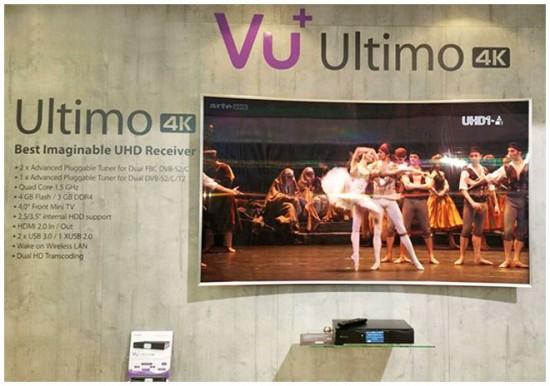 комбинированный спутниковый ресивер Vu+ Ultimo 4K