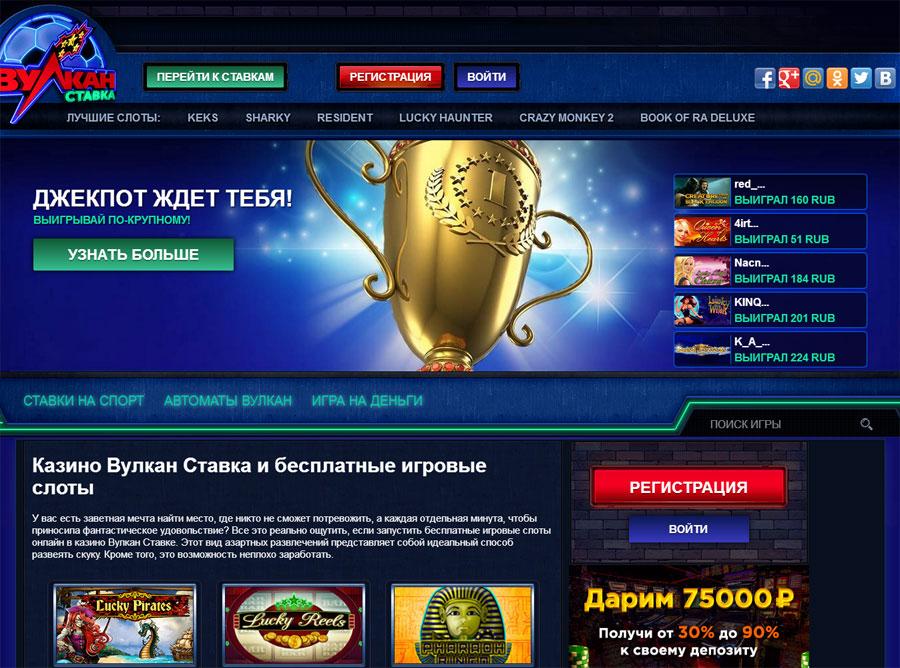 Популярное казино вулкан ставка и его брендовые игровые автоматы
